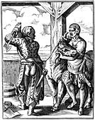 Butcher, 16th century