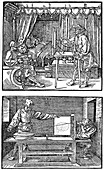 Drawing apparatus, 1525