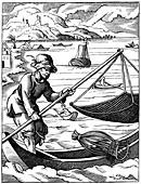 Fisherman, 16th century