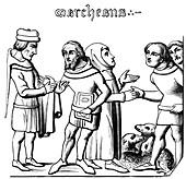 Merchants, 14th century