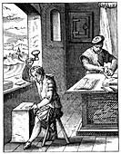 Goldbeater, 16th century