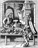 Spur maker, 16th century