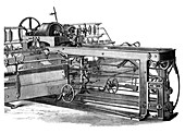 The spinning mule, c1880