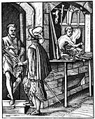 Arquebusier, 16th century