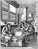 Clasp-maker, 16th century