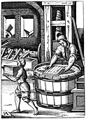 Paper maker, 16th century