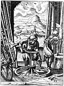Wheelwright, 16th century