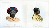 Abyssinian portraits, 1848