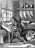 Wood engraver, 16th century