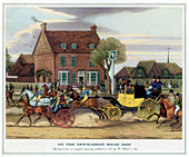 On the Newmarket Road, 1820'
