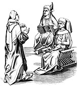Italian doctors, 15th century