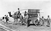 A camel cart, India, 1916-1917
