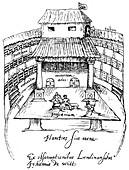 The Swan Theatre, London, 1596