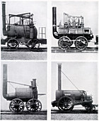 Early locomotives, 19th century