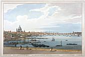Blackfriars Bridge, London, 1795
