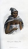 Female of the Bushman Race', 1848