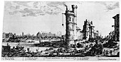Vue Ancienne de Paris', c1615-1635