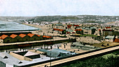 General view of St Helier, Jersey, 1906