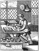 Painter of popular pictures, 16th century