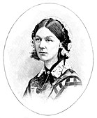 Florence Nightingale (1820-1910), British nurse