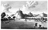 Seven Mountains near Runkelstein', 19th century