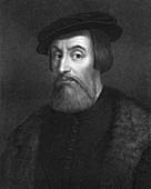 Hernan Cortes, 16th century Spanish conquistador
