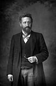 Professor William Edward Ayrton, British physicist