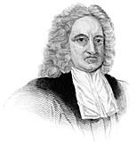 Edmond Halley, English astronomer and mathematician