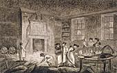 Premises of Nathaniel Bentley, City of London, 1804