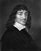 Rene Descartes, French philosopher and mathematician