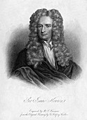 Sir Isaac Newton, English mathematician and physicist