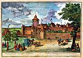 Hospital gate, Nuremberg, Germany, 17th or 18th century