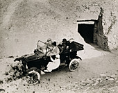 Lord Carnavon's in the Valley of the Kings, Egypt, 1922