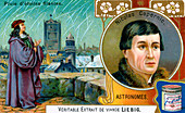 Nicolas Copernicus, Polish astronomer and mathematician