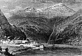 The Fraser River, British Columbia, Canada, 19th century