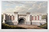 Primrose Hill Tunnel, London and Birmingham Railway, 1837