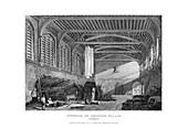 Interior of Croydon Palace, Surrey, 1829
