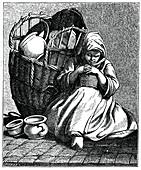 Stoneware for sale, 1737-1742