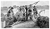 Fisherman's Jetty, 1886
