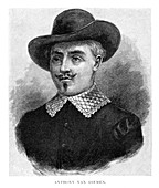 Anthony van Diemen, Dutch colonial governor, (1886)