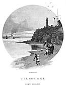 Queenscliff, Port Phillip, Victoria, Australia, 1886
