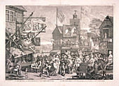 The humours and diversions of Southwark Fair', London, 1733