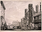 St James's Gate leading to St James's Palace, London, 1766