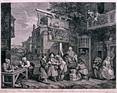 Canvassing for votes', 1757
