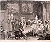 In high keeping by a Jew', The Harlot's Progress, 1732