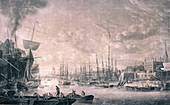 View of London from the East, 1793