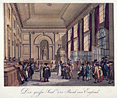 Bank of England, Threadneedle Street, London, 1808