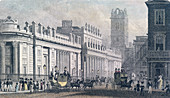 Bank of England, Threadneedle Street, London, c1827