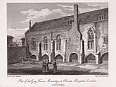 Christ's Hospital, London, 1812
