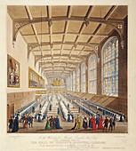 Christ's Hospital, London, 1830